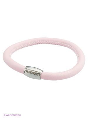 Браслет LIZA GELD. Цвет: бледно-розовый, серебристый