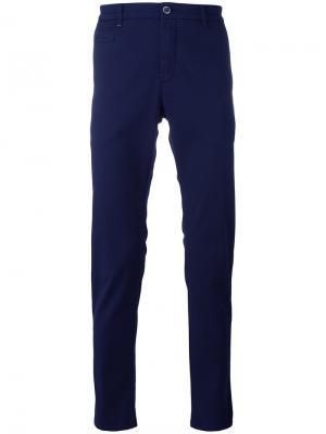 Slim-fit trousers Re-Hash. Цвет: синий