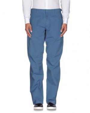 Повседневные брюки DONDUP. Цвет: грифельно-синий