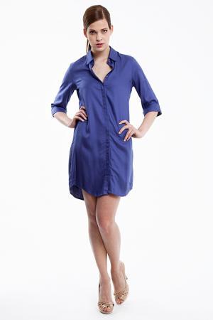 Платье Baukjen. Цвет: синий