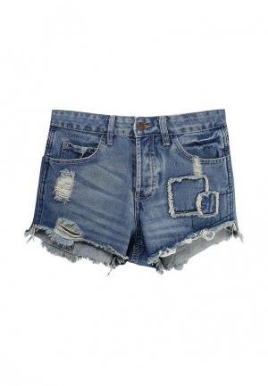 Шорты джинсовые Urban Bliss. Цвет: голубой