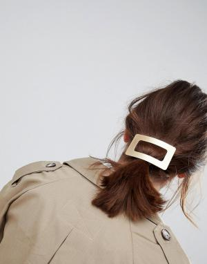 ASOS Заколка для волос ограниченной серии. Цвет: золотой
