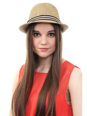 Шляпа Olere. Цвет: коричневый, бежевый, красный, черный, зеленый