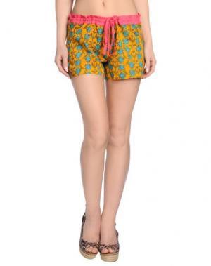 Пляжные брюки и шорты OPALINE. Цвет: оранжевый