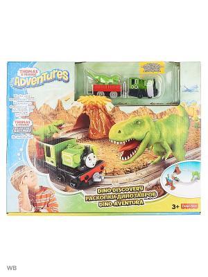 Игровой набор Парк динозавров THOMAS & FRIENDS. Цвет: зеленый