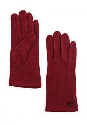Перчатки Vitacci. Цвет: бордовый