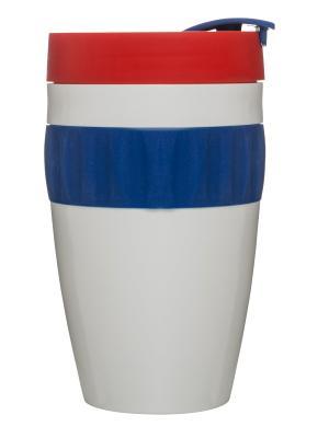 Кружка для напитков на вынос Sagaform. Цвет: синий, белый, красный