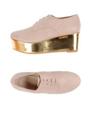 Обувь на шнурках LIKA MIMIKA. Цвет: светло-розовый