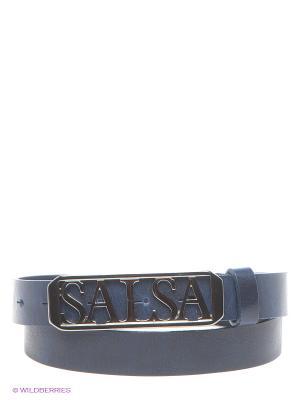 Ремень ADELAIDE Salsa. Цвет: темно-синий