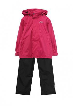 Комплект ветровка и брюки Five Seasons. Цвет: разноцветный