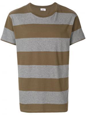 Полосатая футболка Closed. Цвет: серый