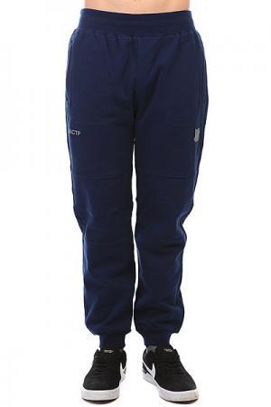 Штаны спортивные  Tech Fleece Sweatpant Navy Undefeated. Цвет: темно-синий