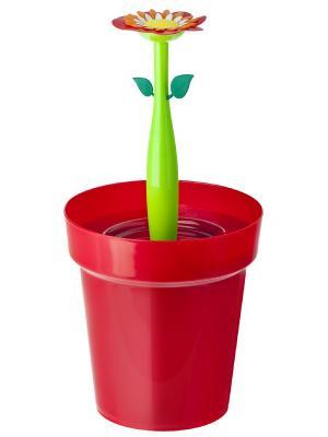 Ведро для мусора VIGAR. Цвет: зеленый, красный
