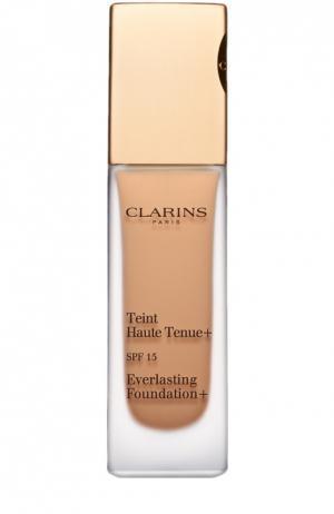 Устойчивый тональный крем Teint Haute Tenue, оттенок 112,5 Clarins. Цвет: бесцветный