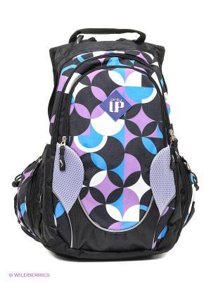 Рюкзак UFO PEOPLE. Цвет: черный, сиреневый