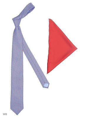 Галстук J Ploenes. Цвет: голубой