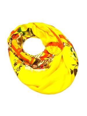Платок & Бусы FOXTROT. Цвет: желтый