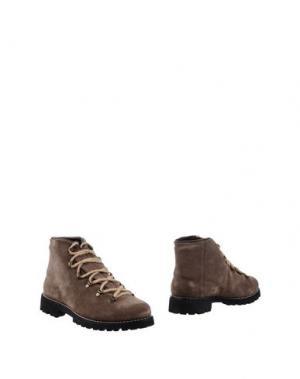 Полусапоги и высокие ботинки SWAMP. Цвет: хаки