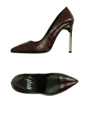 Туфли OVYE' BY CRISTINA LUCCHI. Цвет: красно-коричневый