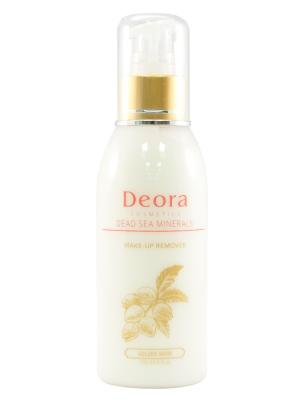 Сливки для снятия макияжа с микрокапсулированными витаминами и маслом макадамии, 150 мл. Deora Cosmetics. Цвет: бежевый