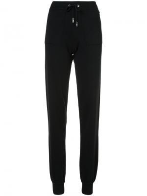 Спортивные брюки с эластичным поясом Eleventy. Цвет: чёрный