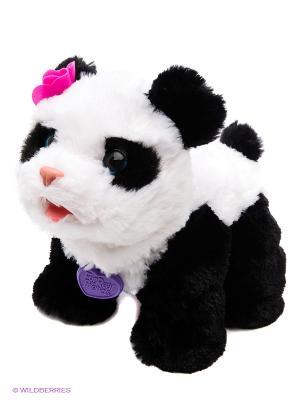 Интерактивная игрушка: Малыш Панда FURREAL FRIENDS. Цвет: фиолетовый, розовый, белый, зеленый
