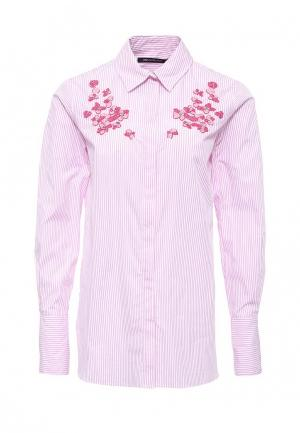 Рубашка Pennyblack. Цвет: розовый