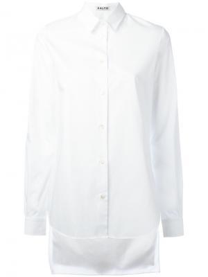 Асимметричная рубашка Aalto. Цвет: белый