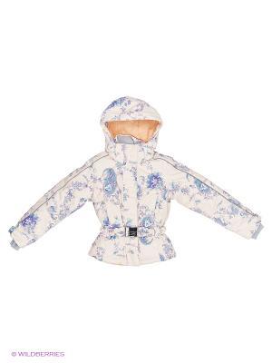 Куртка Stayer. Цвет: бежевый, бирюзовый, фиолетовый