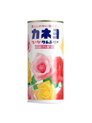 Kaneyo Порошок чистящий для кухни и ванны с ароматом цветов 400 г. Цвет: белый, розовый