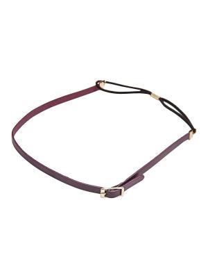 Повязка Kameo-bis. Цвет: фиолетовый, золотистый, черный