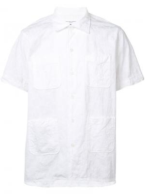 Рубашка с короткими рукавами Engineered Garments. Цвет: белый