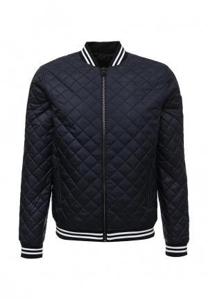 Куртка утепленная Calvin Klein Jeans. Цвет: синий
