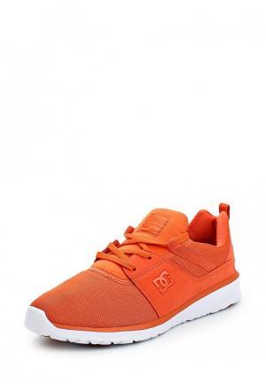 Кроссовки DC Shoes. Цвет: оранжевый