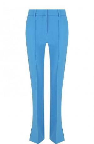 Однотонные расклешенные брюки со стрелками Victoria by Beckham. Цвет: голубой