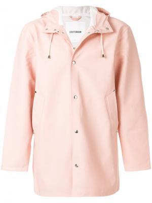 Плащ Stockholm Stutterheim. Цвет: розовый и фиолетовый