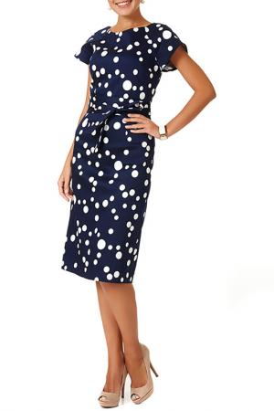 Платье Argent. Цвет: сине-белый