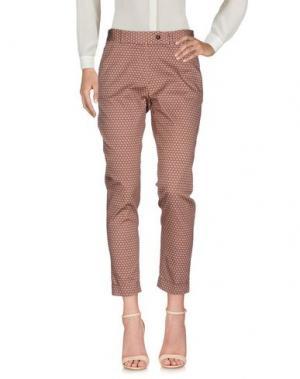 Повседневные брюки MÊME by GIAB'S. Цвет: пастельно-розовый