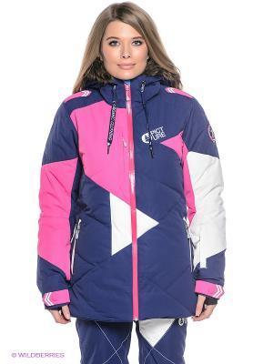 Куртка Picture Organic. Цвет: синий, белый