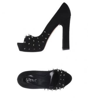 Туфли CHON. Цвет: черный