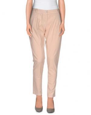 Повседневные брюки SARAH JACKSON. Цвет: светло-розовый