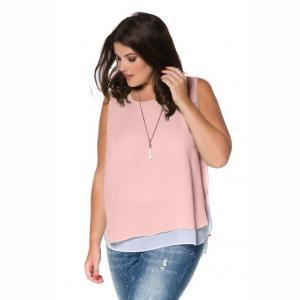 Блузка без рукавов STUDIO UNTOLD. Цвет: светло-розовый