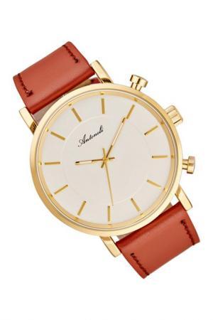 Наручные часы ANTONELI. Цвет: коричневый