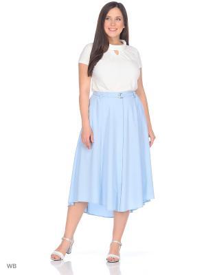 Блузка KATERINA. Цвет: белый