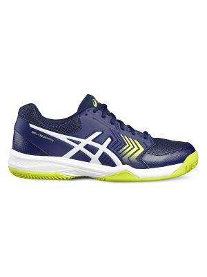 Спортивная обувь GEL-DEDICATE 5 CLAY ASICS. Цвет: темно-синий, белый, желтый