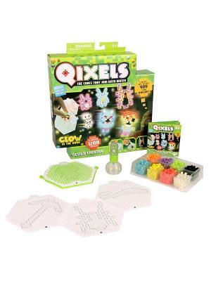 Qixels набор для творчества дизайнер. Цвет: зеленый