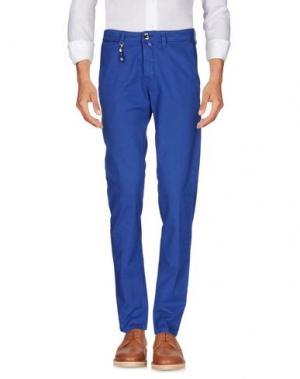 Повседневные брюки FRADI. Цвет: синий