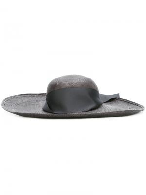 Шляпа Lady Ibiza Sensi Studio. Цвет: чёрный