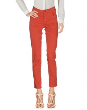 Повседневные брюки MAX & CO.. Цвет: ржаво-коричневый