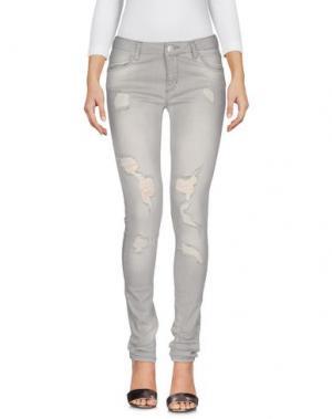 Джинсовые брюки 2ND ONE. Цвет: серый